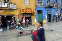 Poor neighborhood of Rimac in the city center, Lima, Peru - Boris Heger - 29-08-2004