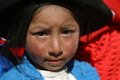 Local indigenous girl, Toccasquesera, in the region of Ayacucho, Peru, September 2004. - Boris Heger - 29-08-2004