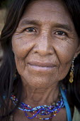 An internally displaced indigenous woman living in San Jose del Guaviare, Colombia. - Boris Heger - 20-01-2011