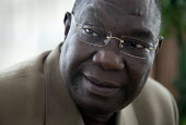 Michel Djotodia, Seleka designated President at home, Bangui, Central African Republic. - Boris Heger - , Africa,2010s,2013,africa,African,Africans,CAF140,Central Africa,Central African Republic,conflict,conflicts,Djotodia,home,pol,political,POLITICIAN,POLITICIANS,politics,president,rebel,rebels,ucw,unr