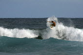 A surfer on the big island of Hawaii. - David Bacon - 26-02-2010