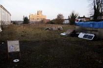 A squat/ Eco village built on a bit of wasteland, West Norwood, London. - Connor Matheson - 13-11-2011