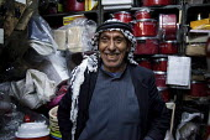 A shopkeeper, Amman, Jordan. - Connor Matheson - 2010s,2011,arab,arabic,arabs,EBF Economy,hardware,headdress,job,jobs,Jordanian,Jordanians,keepers,keffiyeh,keffiyehs,kufiya,lbr work,Low Pay,man men,Middle East,people,retail,RETAILER,RETAILERS,RETAIL