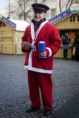Collecting money for the Salvation Army at a Christmas market, Sheffield City Centre. - Connor Matheson - 09-12-2012