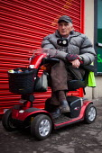 An elderly man in Maltby, Rotherham. - Connor Matheson - 04-04-2014