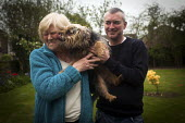 Paul's dog Bella tried to kiss his mother, Cudworth, Barnsley. - Connor Matheson - 29-04-2014