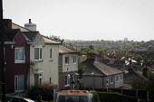 A view of typical housing, Thrybergh, Rotherham, South Yorkshire. - Connor Matheson - 2010s,2014,cityscape,cityscapes,EBF,Economic,Economy,house,houses,housing,outdoors,outside,scene,scenes,skyline,skylines,street,streets,town,urban