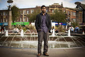 Muhbeen Hussain, leader and founder of Rotherham Youth Council. Rotherham Centre, South Yorkshire. - Connor Matheson - 01-09-2014