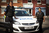 Police community support. Eastwood South Yorkshire. - Connor Matheson - 2010s,2014,adult,adults,asian,asians,AUTO,AUTOMOBILE,AUTOMOBILES,AUTOMOTIVE,BAME,BAMEs,black,BME,bmes,CAR,cars,child sexual abuse,cities,city,CLJ,communities,community,community policing,confidence pa