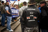 Far right group Britain First staging a demonstration in Rotherham Centre, South Yorkshire. - Connor Matheson - 06-09-2014