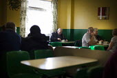 Diners in a cafe. The community of Scunthorpe. Scunthorpe, North Lincolnshire. - Connor Matheson - 29-10-2014