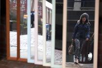 Pedestrians walking through Sheffield Centre. - Connor Matheson - 13-02-2015