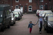 Pedestrians walking through Sheffield. - Connor Matheson - 2010s,2015,adolescence,adolescent,adolescents,asian,asians,BAME,BAMEs,Black,BME,bmes,brother,brothers,child,CHILDHOOD,children,cities,city,Council Services,Council Services,diversity,ethnic,ethnicity,