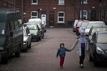 Pedestrians walking through Sheffield. - Connor Matheson - 15-02-2015