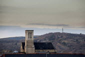 A view of St Vincent's Church and Sheffield Ski Village, Sheffield, South Yorkshire. - Connor Matheson - 14-03-2015