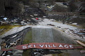 Abandoned Ski Village. The Ski Village was burnt down in 2012 by an arson attack and has since been left derelict. Sheffield, South Yorkshire. - Connor Matheson - 19-03-2015