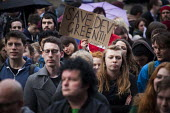 Protest outside Sheffield Town Hall against the demolition of Devonshire Street. The protest was during the council planning commitees vote on whether a row of shops on Devonshire Street, should be de... - Connor Matheson - 24-03-2015