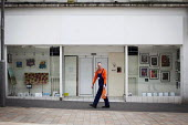 Art in a closed down shop that is part of the Sheffield Showcase project, a project that turns disused retail space into community art space. The project is funded by Sheffield City Council as a Vacan... - Connor Matheson - 30-03-2015