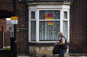 Vote Paul Blomfield Labour Party poster in the window of a house, Nether Edge, Sheffield, South Yorkshire. - Connor Matheson - 16-04-2015