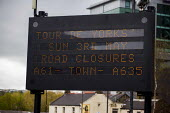 Road closures anounced for the Tour De Yorkshire. Barnsley Centre, South Yorkshire. - Connor Matheson - 2010s,2015,bicycle,bicycles,BICYCLING,Bicyclist,Bicyclists,BIKE,BIKES,cities,city,cycle,cycles,cycling,Cyclist,Cyclists,highway,PHYSICAL,race,races,racing,Road,ROADS,spo,sport,sports,urban