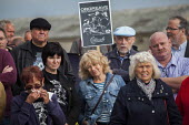 Campaigners and supporters rally to mark the 31st anniversary of the battle of Orgreave which took place during the miners strike. Activists and victims are demanding a public enquiry into the abuse o... - Connor Matheson - 18-06-2015