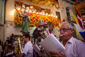 The Feast of Our Lady of Sorrows St. Pauls Bay Malta brass band performing - Connor Matheson - 24-07-2015
