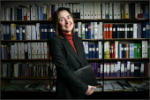 Debbie Brisco, School Business Manager at Broughton Hall School in Liverpool. - Christopher Thomond - 21-03-2005