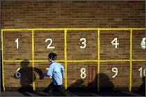 King David Jewish Junior School in Cheetham Hill, Manchester. - Christopher Thomond - 2000s,2004,bme minority ethnic,boy,boys,break,break time,breaktime,cap,caps,child,CHILDHOOD,children,edu education,faith,Faith School,Faith Schools,hat,hats,hebrew,jew,Jewish,jews,judaism,juvenile,juv