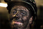 Miner leaving at the end of his shift, Daw Mill Colliery, Warwickshire. - Christopher Thomond - 05-12-2008