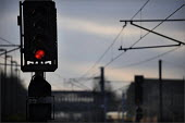 A red stop light at York Railway Station in the week that Liberal Democrat MP Norman Baker discovered that the Prevention of Terrorism Act 2004 has been used to stop a staggering 62,584 people at rail... - Christopher Thomond - 08-01-2009