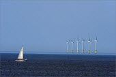 North Hoyle offshore windfarm near Prestatyn, in North Wales. - Christopher Thomond - 24-06-2009