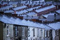 Terraced houses in Darwen, Lancashire. - Christopher Thomond - 28-07-2009