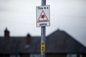 Home Watch sign. Northern Moor housing estate, Manchester - Christopher Thomond - 21-08-2009