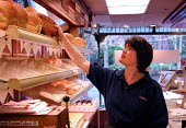 Shopworker in a Sheffield bakery - David Bocking - 2000s,2001,baker,bakers,bakery,Convenience,EARNINGS,EBF economy business,employee,employees,Employment,europeregi,fast food,fast food,fastfood,FEMALE,food,FOODS,Income,inequality,job,jobs,keepers,LAB