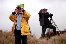 Guided birdwatching walk on Wadsley Common, Sheffield - David Bocking - 13-01-2002
