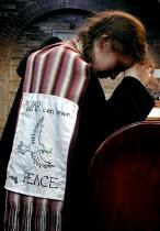 Anti war prayers at the Sacred Heart church, Sheffield - David Bocking - 15-02-2003