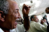 Natham Radi, head of the union in the port of Um Qasr, which is affiliated with the Iraqi Federation of Trade Unions. - David Bacon - 28-05-2005