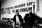 ^K Foundation^ event during the two and a half year long dock dispute during which 400 dockers were sacked for refusing to cross a picket line, during which time the strike remained unofficial (TGWU)... - David Sinclair - 12-08-1997