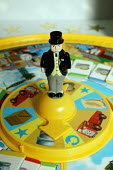 Thomas the Tank Engine, one of the best selling children's toys, now played as a board game. Hamleys Toyshop. The Fat Controller - David Mansell - 23-10-2005