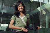 British Asian, graduate Ruhi Sabah Mirla, IT computer systems engineer working for Cisco. - David Mansell - 2000s,2008,asian,asians,BAME,BAMEs,black,bluetooth,BME,BME Black minority ethnic,bmes,communicating,communication,COMPUTE,computer,Computer Industry,computerindustry,computers,COMPUTING,diversity,emai