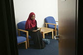 A quiet room used as a multi faith pray room for employees at work, Raheela Ali is a muslim and uses this multi faith pray room at her place of work, where she works as a solicitor for Slough Council,... - David Mansell - 08-05-2008