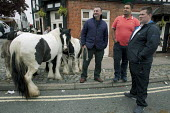 Annual Horse Fair, Wickham, Hampshire, Tom Dooly, John Jeffries and Miniature Gypsy Cobs - David Mansell - 21-05-2012