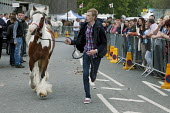 Horse run, Annual Horse Fair. Wickham Hampshire - David Mansell - 2010s,2012,ACE,adolescence,adolescent,adolescents,animal,animals,BAME,BAMEs,BME,bmes,boy,boys,child,CHILDHOOD,children,culture,diversity,domesticated ungulate,domesticated ungulates,EBF,Economic,Econo