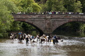 Appleby Horse Fair, Cumbria, washing horses in the River Eden - David Mansell - ,2010s,2015,animal,animals,BAME,BAMEs,BME,bmes,bridge,bridges,country,countryside,diversity,domesticated ungulate,domesticated ungulates,enjoy,enjoying,enjoyment,equestrian,equine,ethnic,ethnicity,Fai