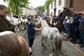 Appleby Horse Fair, Cumbria, horse dealers and buyers along the Sands - David Mansell - 05-06-2015