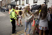 Appleby Horse Fair, Cumbria, the most important place to be seen if you are young. Gypsy and the Travelling community have strict moral codes for their young people and visiting the Fair is the one oc... - David Mansell - 2010s,2015,adolescence,adolescent,adolescents,BAME,BAMEs,BME,bmes,boy,boys,child,CHILDHOOD,children,communities,community,diversity,dressed up,enjoy,enjoying,enjoyment,ethnic,ethnicity,Fair,female,fem