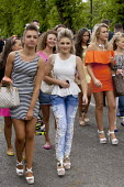 Appleby Horse Fair, Cumbria, the most important place to be seen if you are young. Gypsy and the Travelling community have strict moral codes for their young people and visiting the Fair is the one oc... - David Mansell - 06-06-2015