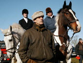 Jeremy Irons, the actor is a pro-hunting protester, and is seen at the gathering of the Bicester Hunt, Oxfordshire, who were protesting against the Labour Government's introduction to a ban on fox hun... - David Mansell - 19-02-2005
