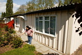 The longest continuous row of prefabs still surviving in Britain today, these sixteen homes can be found in Wake Green Road, Birmingham. The prefab was a single storey small home, infact a bungalow, t... - David Mansell - 07-05-2005