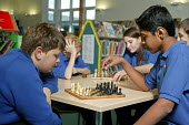 Bridgemary Community School where students are taught in classes of ability and not by age, so the subject classes are made up of pupils with different ages. This system of teaching in secondary educa... - David Mansell - 28-11-2005